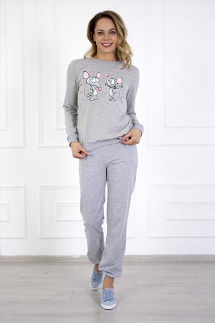 Женский свитшот Панды и чай - купить в интернет-магазине